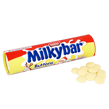 Nestle Milkybar Button Tube 100G