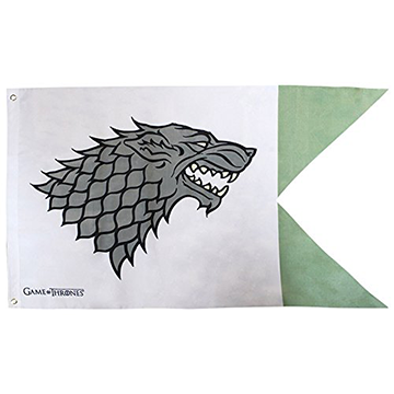 Stark Flag - Game of Thrones