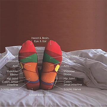 Sikasok Reflexology Socks