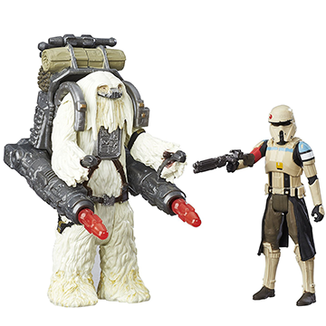 Scarif Stormtrooper and Moroff - Star Wars: Rogue One