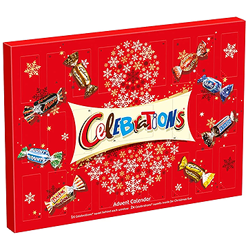 Mars Celebrations Giant Advent Calendar 230g