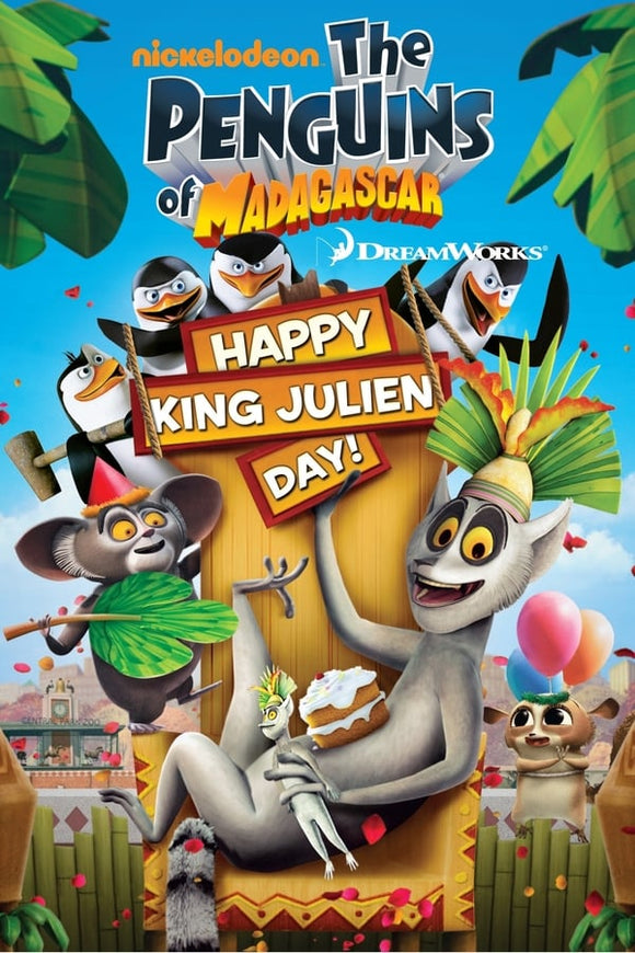 The Penguins of Madagascar: Happy King Julien Day! 1989