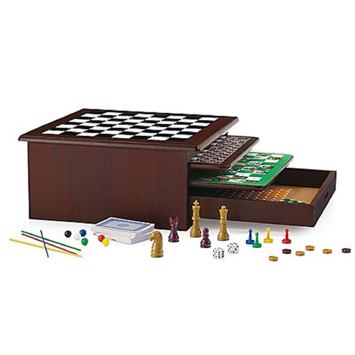 12 in 1 Wood Game Center
