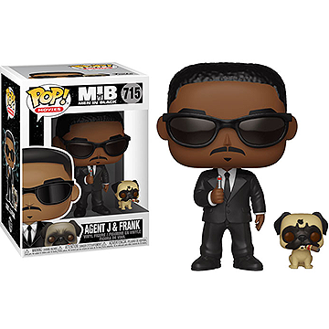 Agent J and Frank - POP! Movies - Men in Black