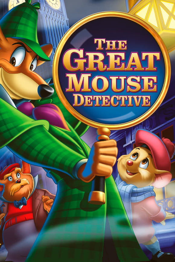 The Great Mouse Detective 1986