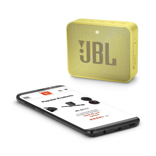 JBL GO2 Yellow Wireless Speaker