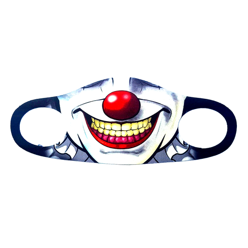 Joker Animation Face Mask