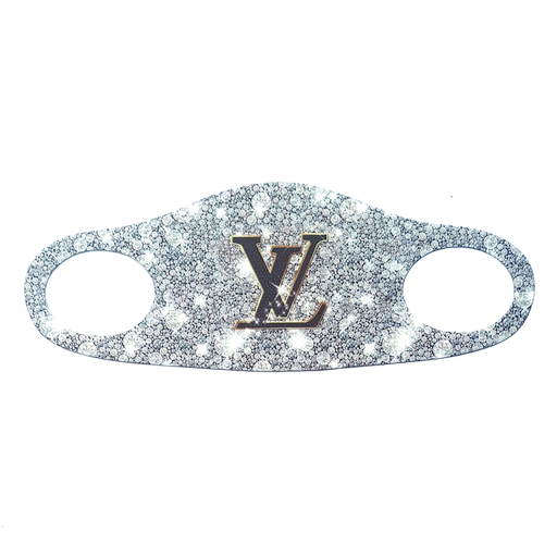 LV Sparkle Face Mask