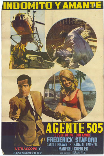 Agent 505: Death Trap in Beirut