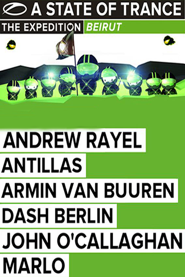 A State of Trance 600 Live from Beirut 2013