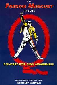 The Freddie Mercury Tribute: Concert for AIDS Awareness 1992