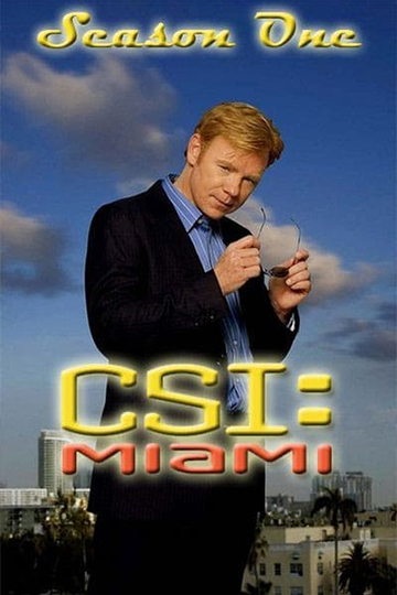 CSI: Miami Season 1 2002