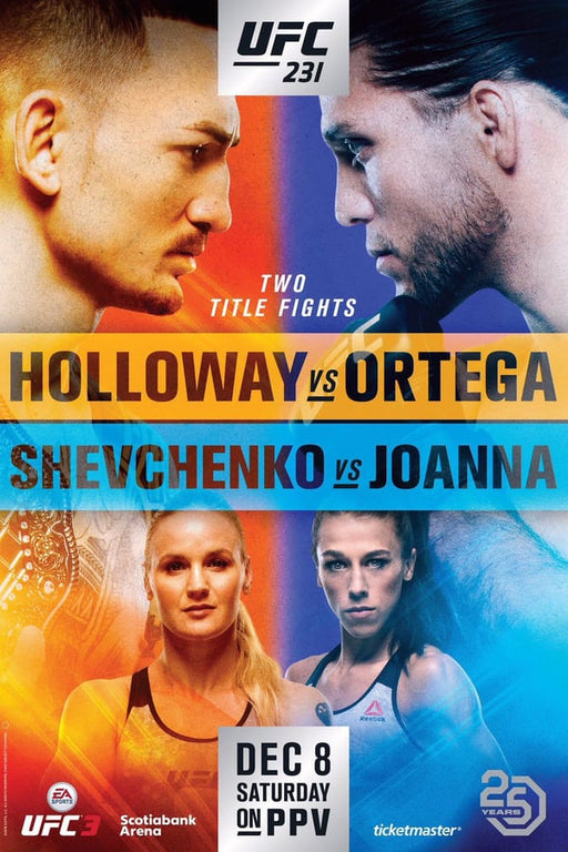UFC 231: Holloway vs. Ortega 2018