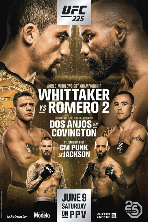 UFC 225: Whittaker vs. Romero 2 2018