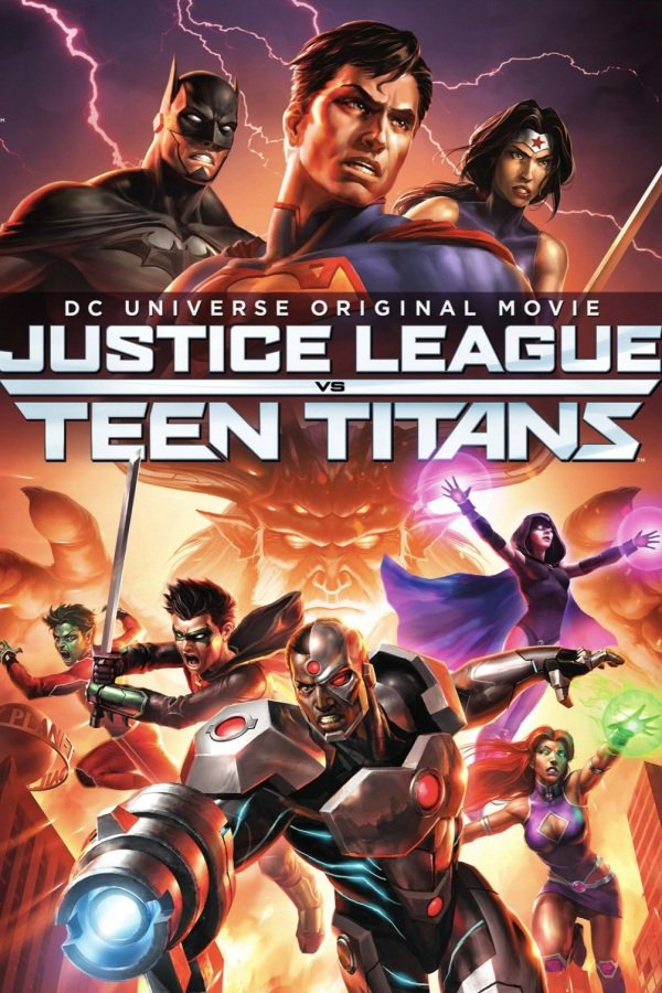Justice League vs. Teen Titans 2016