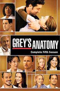Greys Anatomy - Season 5 (2008) TV Series poster on cokeandpopcorn