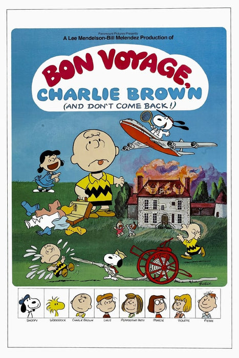 Bon Voyage, Charlie Brown (and Don't Come Back!!) 1980