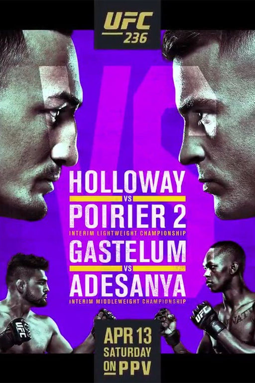 UFC 236: Holloway vs. Poirier 2 2019