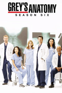 Greys Anatomy - Season 6 (2009) TV Series poster on cokeandpopcorn