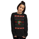 Warriors Rugly Christmas Sweater Unisex Long Sleeve Shirt