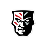 Warriors Rugby Mask Bubble-free stickers