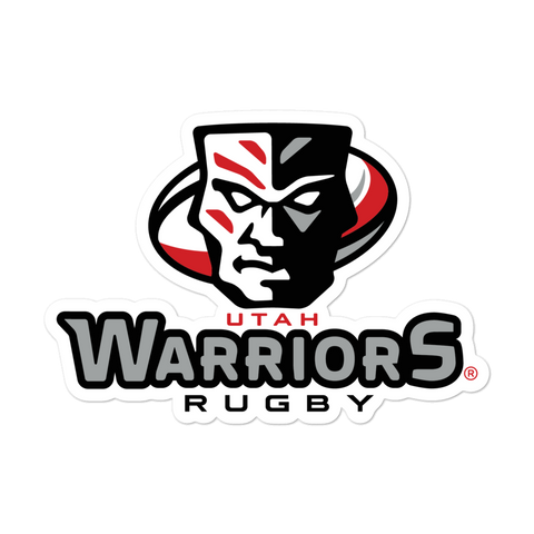 Warriors Rugby Bubble-free stickers