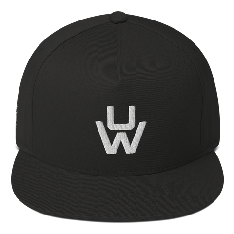 UW Monogram - Flat Bill Cap