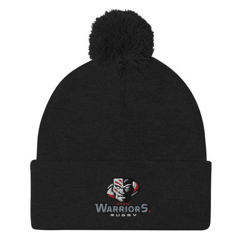 Utah Warriors Rugby Pom-Pom Beanie