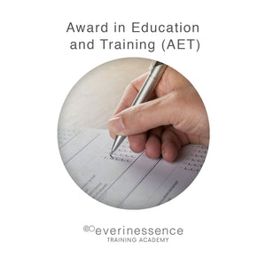Award in Education and Training (AET)