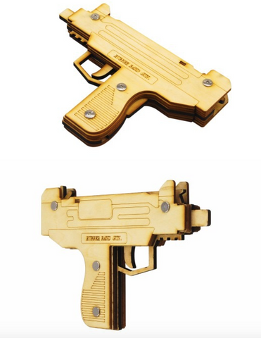 59825d6cf63 UZI Rubber Band Pistol