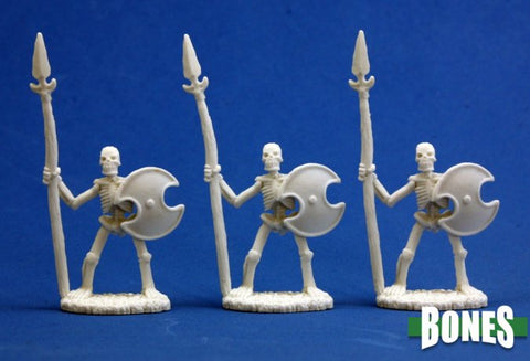 77001 Skeletal Spearmen (3)
