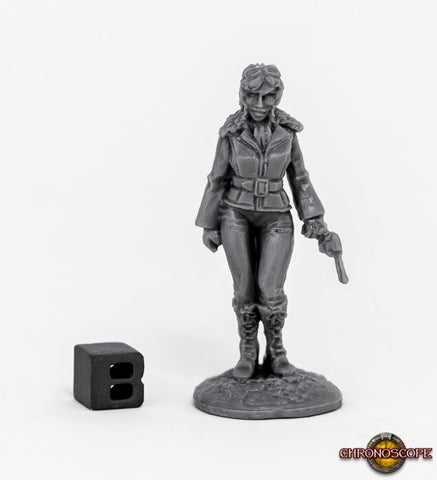 80070 Pulp Era Female Pilot
