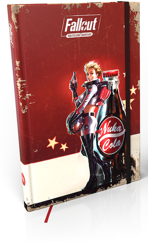 Fallout: Wasteland Warfare Nuka Cola Girl Notebook