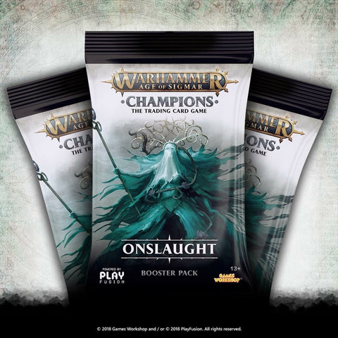 Warhammer Champions Booster Pack Wave 2: Onslaught