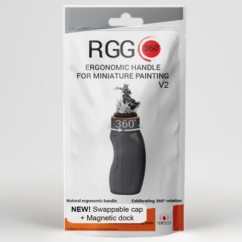 Redgrass RGG360 Miniature Holder Painting Handle V2