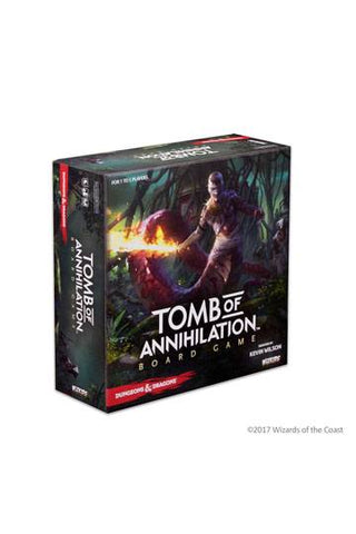 D&D Tomb Of Annihilation Adventure System Board Game