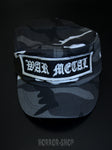 War Metal Army Cap