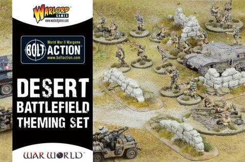 Desert Battlefield Theming Set