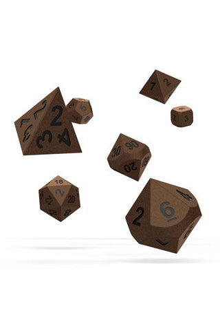 Oakie Doakie Dice Metal RPG Set