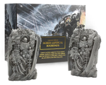 Horus Lupercal Bookends