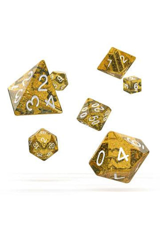 Oakie Doakie Dice Speckled RPG Set