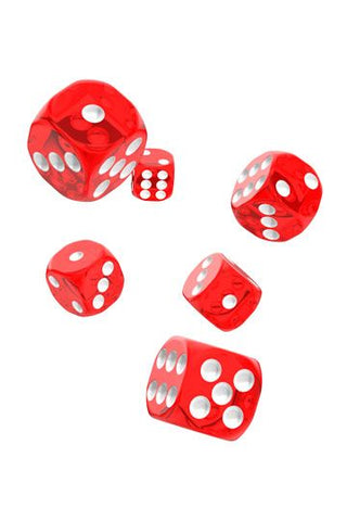 Oakie Doakie Dice Translucent D6 (16mm)