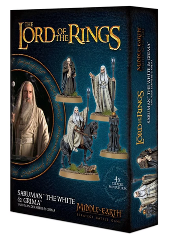 Saruman™ the White & Gríma