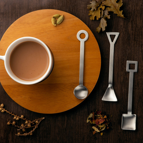 Café Spoon (6 pieces set with 3 different shape)