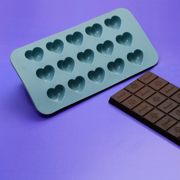 Silicone Sweetheart Chocolate Mould - 15 Holes