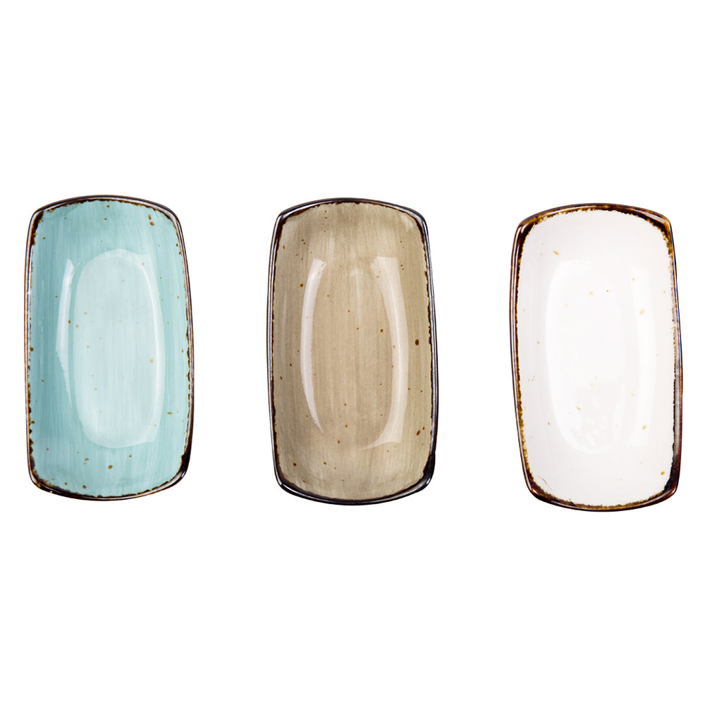 Amalfi - Boat ( Set of 3 pcs Multi-color )