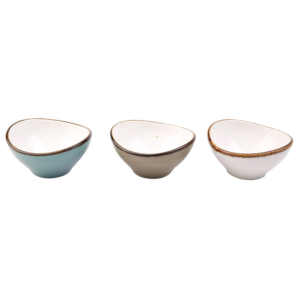 Amalfi - Curve (Set of 3 pieces multi-color)