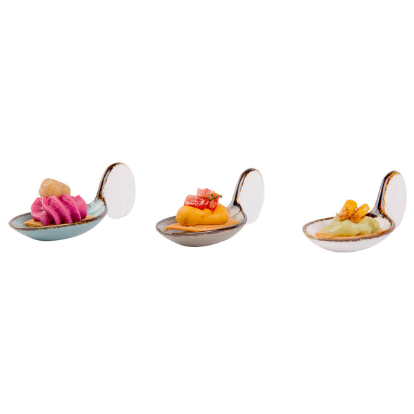 Amalfi - Fish (Set of 3 pieces multi-color)