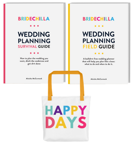 Bridechilla Wedding Planning Guides