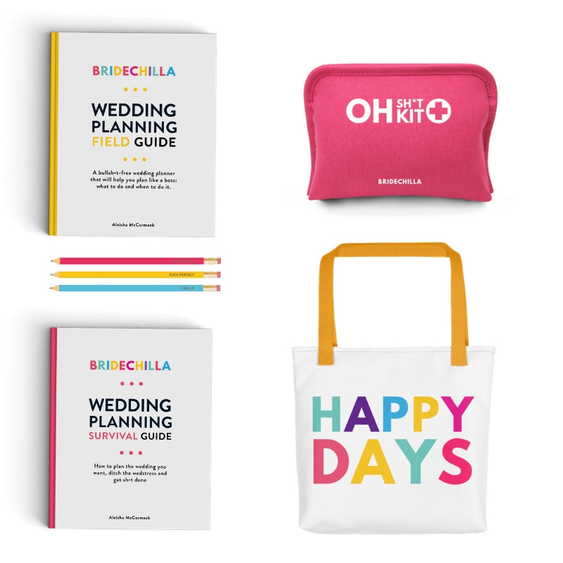 Bridechilla Big Wedding Planning Pack